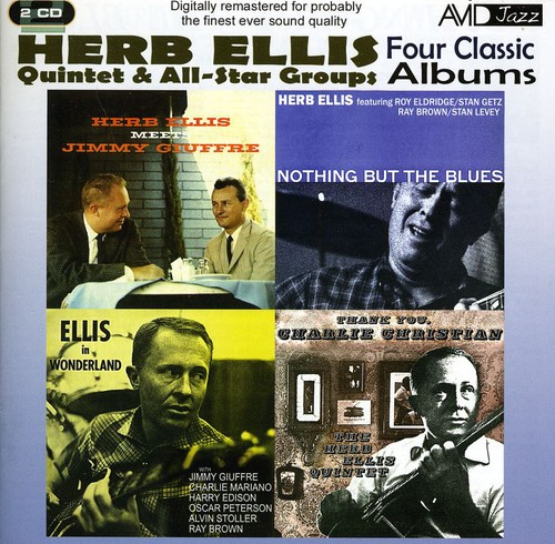 4 Classic Albums - Nothing But The Blues/ Meets Jimmy Giuffre/ In Wonderland/ Thank You, Charlie Christian