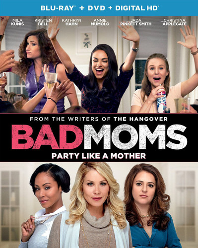 Bad Moms [UltraViolet] [Blu-ray/DVD] [2 Discs]