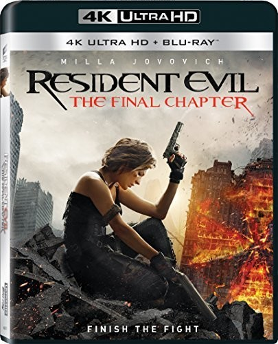 Resident Evil: The Final Chapter [4K Ultra HD Blu-ray/Blu-ray]