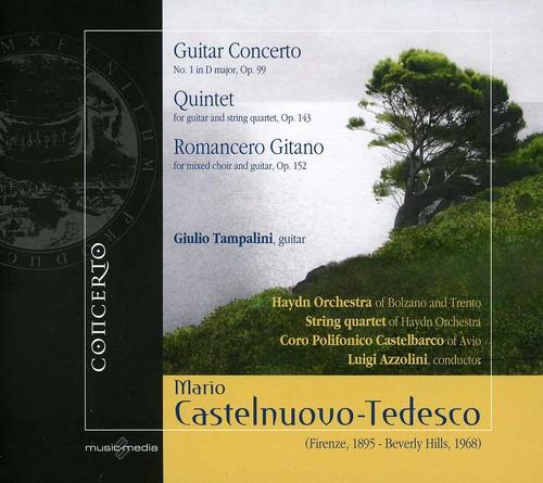 Guitar Concerto & Quintet & Romancero Gitano