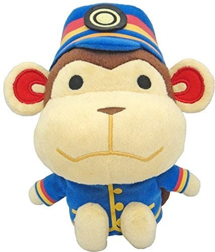 "- Little Buddy Animal Crossing Porter 7"" Plush"