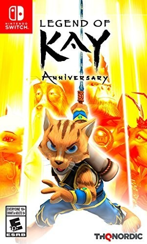 - Legend of Kay Anniversary for Nintendo Switch