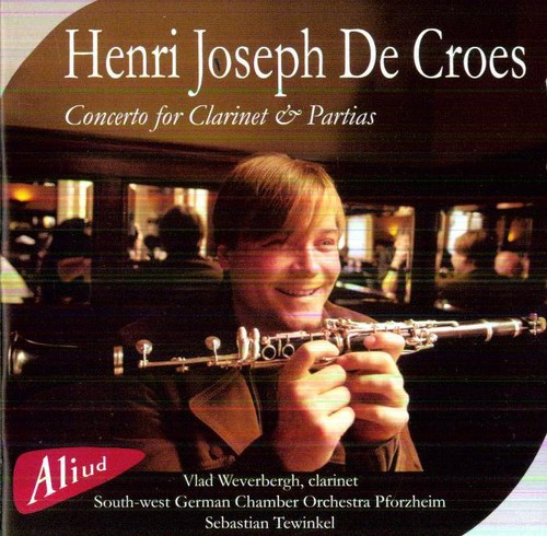 Concerto for Clarinet & Partias