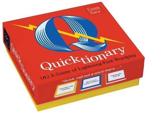 - Quicktionary: A Game of Lightning-fast Wordplay