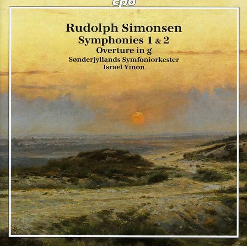 Symphonies 1 & 2 Overture in G minor