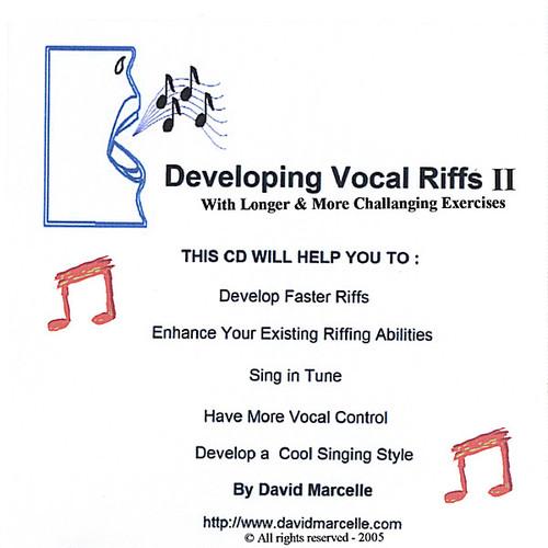 Developing Vocal Riffs 2