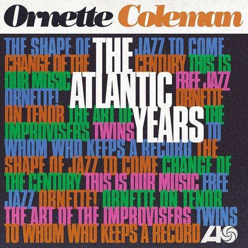 Ornette Coleman - The Atlantic Years [10LP Box Set]