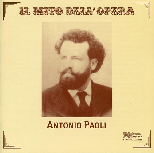 Antonio Paoli Sings Opera Arias