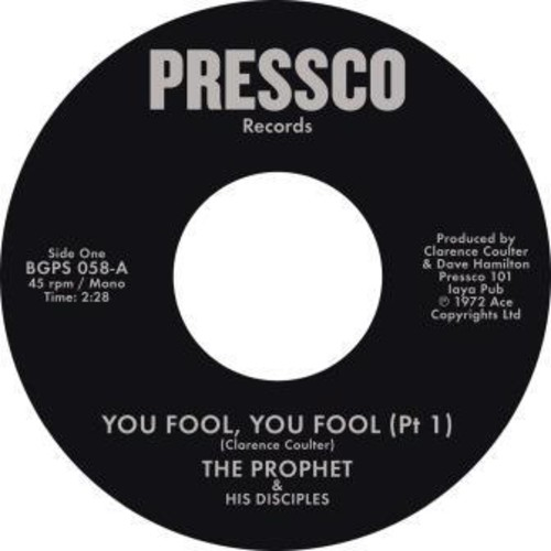 You Fool You Fool (Pt 1) /  You Fool You Fool (Pt2) [Import]