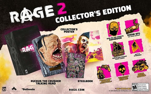 Ps4 Rage 2 CE - Rage 2 Collector's Edition for PlayStation 4