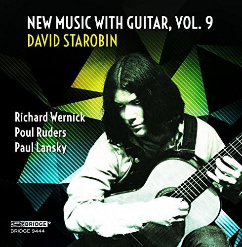 David Starobin: New Music with Guitar 9