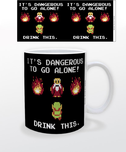 Zelda Drink This 11 Oz Mug - Zelda Drink This 11 oz mug