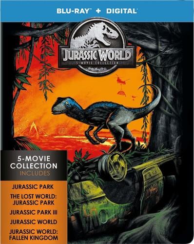 Jurassic Park [Movie] - Jurassic World: 5-Movie Collection [Limited Edition Steelbook]