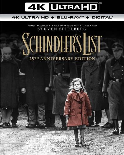 Schindler's List [25th Anniversary] [4K Ultra HD Blu-ray/Blu-ray]