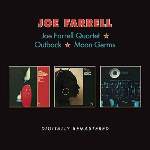 Joe Farrell - Joe Farrell Quartet / Outback / Moon Germs (Uk)