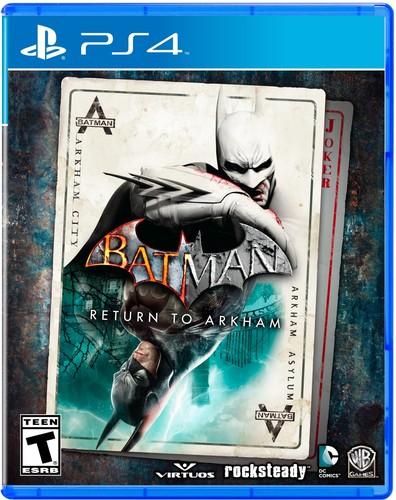 - Batman: Return to Arkham for PlayStation 4