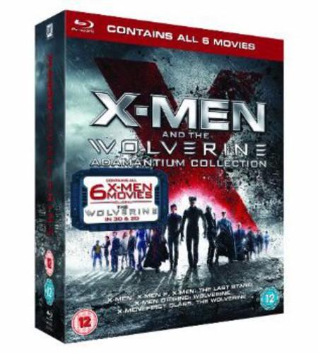 X-Man & the Wolverine Adamantium Collection