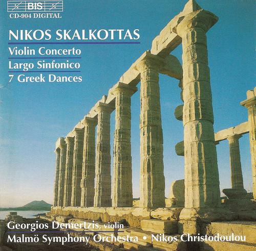 Orch Works: V Cto; Largo; 7 Greek Dances; Etc