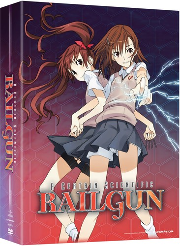 A Certain Scientific Railgun Season 1 Pt 1
