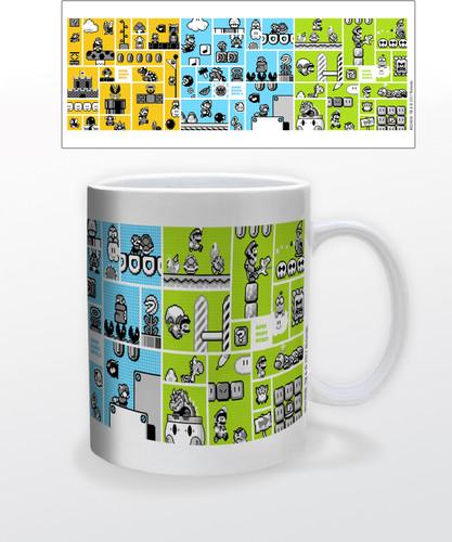 Super Mario Legacy 11 Oz Mug - Super Mario Legacy 11 oz mug