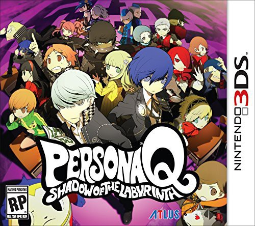 3Ds Persona Q:Shadow of Labyrinth - Persona Q:Shadow Of Labyrinth
