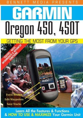 Garmin Oregon 450, 450t