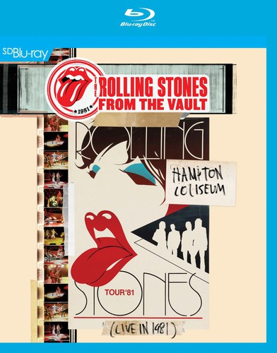 The Rolling Stones - From the Vault: Hampton Coliseum Live In 1981 [Blu-Ray]