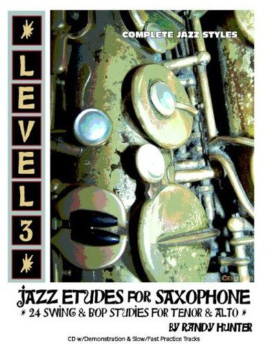 Level Three: Jazz Etudes for Saxophone