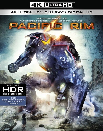 Pacific Rim [4K Ultra HD Blu-ray/Blu-ray]