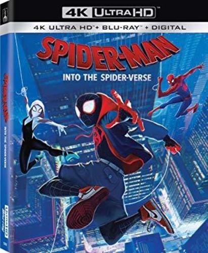 Spider-Man: Into the Spider-Verse [4K Ultra HD Blu-ray/Blu-ray]