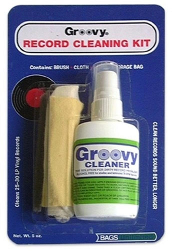 Bags Unlimited Agck-2 Groovy Record Cleaning Kit - Bags Unlimited Agck-2 Groovy Record Cleaning Kit