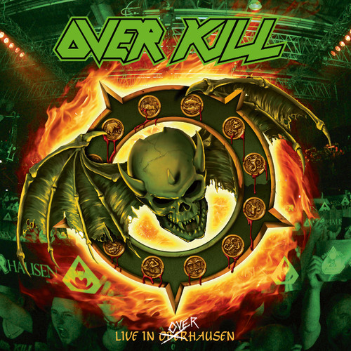 Overkill - Horrorscope (Live In Overhausen) [Orange w/ Gree & Yellow Splatter 2LP]