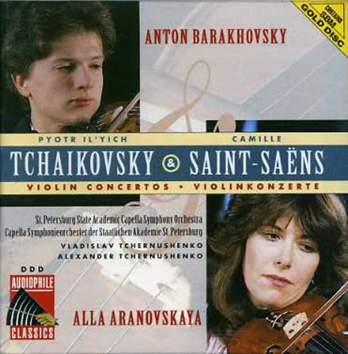 Tchaikovsky: VLN Cto /  Saint-Saens: VLN Cto