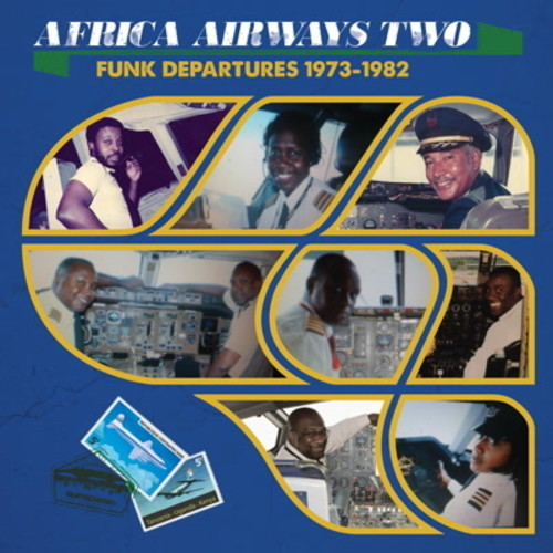 Africa Airways 2 (funk Departures 1973-82 /  Var