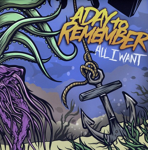 A Day To Remember - All I Want [Single] [Colored Vinyl]