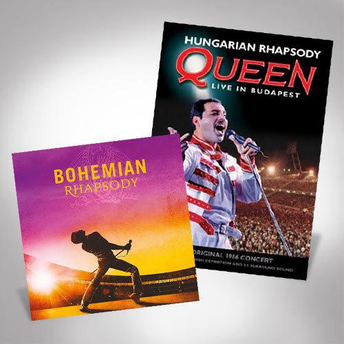 Bohemian Rhapsody Live In Budapest Bundle