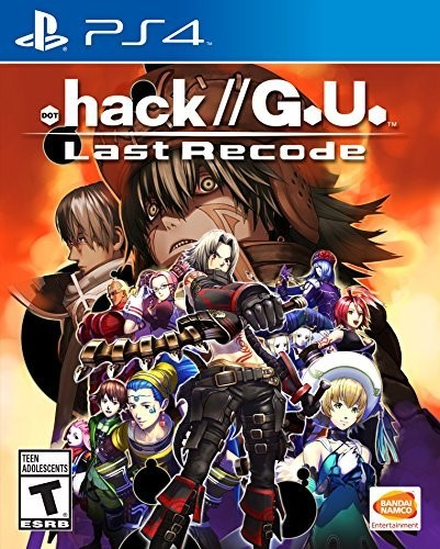 - .Hack//G.U. Last Recode for PlayStation 4
