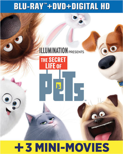 SECRET LIFE OF PETS [Blu-ray+DVD+Digital HD]