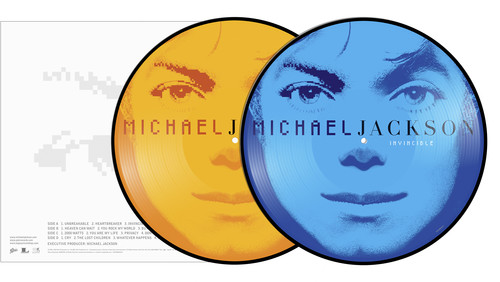 Michael Jackson - Invincible [Picture Disc LP]