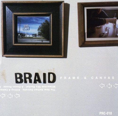 Braid - Frame and Canvas