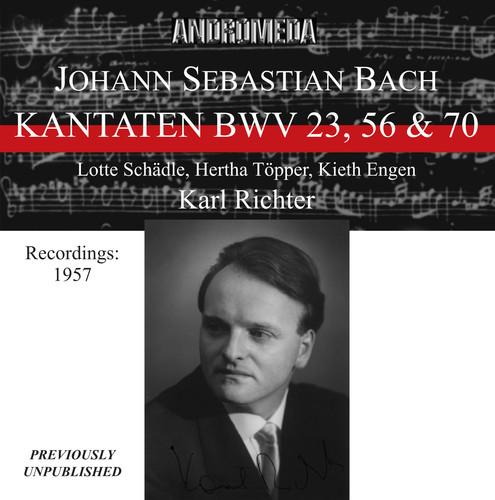 Kantaten BWV 23 56 & 70