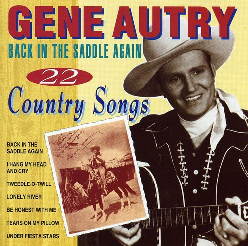 Back in the Saddle Again: 22 Country Songs [Import]