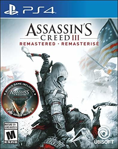 - Assassin's Creed III: Remastered for PlayStation 4