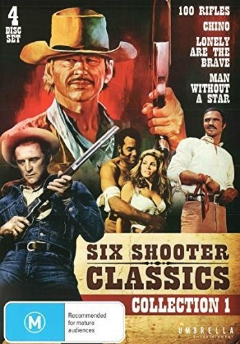 Six Shooter Classic Westerns Collection Vol 1