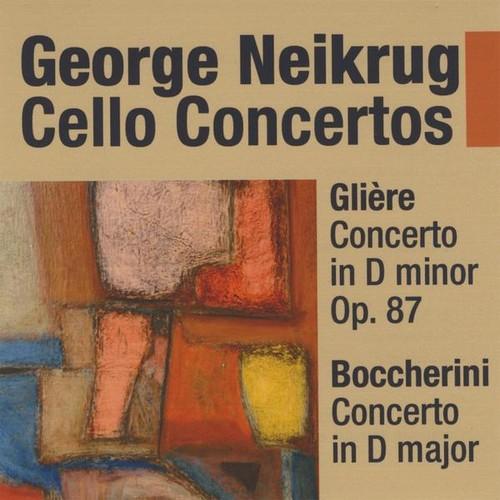 Gliere Cello Concerto in D minor