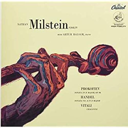 Violin Sonatas & Chaconne (Prokofiev, Handel & Vitali)