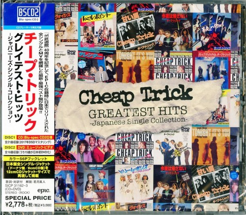 Cheap Trick - Greatest Hits: Japanese Single Collection (Blus)