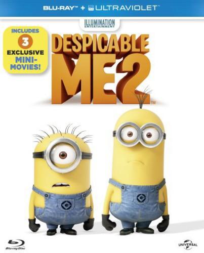 Despicable Me 2 (Blu-ray+Uv)