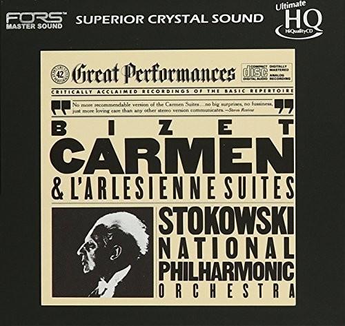 Bizet: Carmen & L'Arlesienne Suites (Uhqcd)