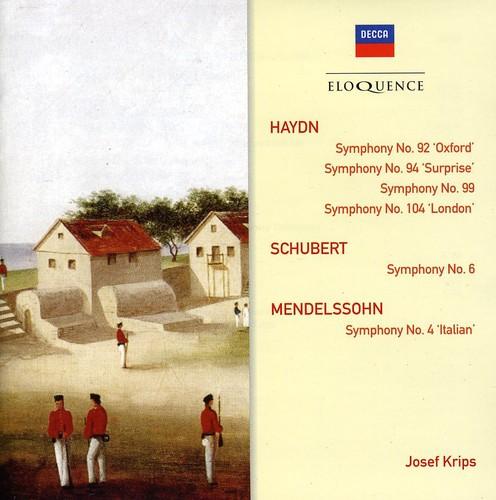 Eloquence: Haydn Schubert Mendelssohn Symphonies